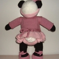 Miss Panda Bear in her Ballerina Outfit
