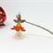 Orange Fairy Angel Bookmark Original OOAK  by Top Shelf
