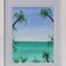 Original Framed Beach Painting