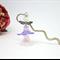 Purple  Lilac Pink Fairy Angel Bookmark Original OOAK  by Top Shelf