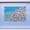Original Framed Abstract Jacaranda