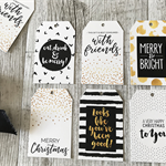 12 pack of Christmas Gift tags