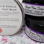Foot Soak & Foot Balm Christmas Gift Set - Peppermint & Vanilla scented