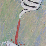 Tea Time - Acrylic Painting on Canvas