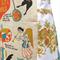 Metro Retro Folk Art Symbols KITCHEN APRON - Birthday