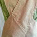 Japanese Wrap Apron, soft tones & dots medium / size 12/14