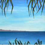East Coast Ocean - Acrylic Seascape Painting on Canvas