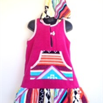 Size 4 Girls Beach Towel Dress/Pool Cover up