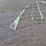 CORAL REEF, SUSTAINABLE STERLING SILVER NECKLACE