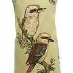 Metro Retro Australian Kookaburra Birds Vintage Tea Towel Apron Christmas Gift