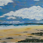 An Evening at Brunswick Heads - Acrylic Beach Painting on Canvas