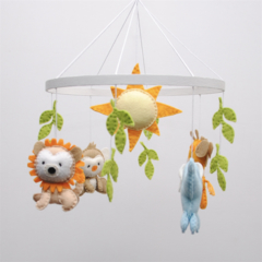 Baby jungle mobile~  baby mobile