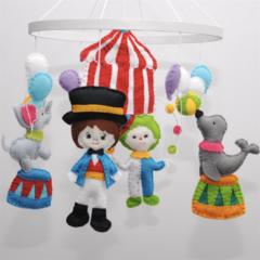 Circus ~  baby mobile