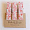 Wild Flowers - Chunky Magnet Pegs - Peg Magnet - Set of 3