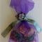 Voile and Vintage Look - Organza Sachet - Old English Roses plus Rose Oil incl