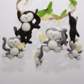 Cute monkey ~  baby mobile