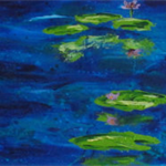 Waterlilies - Acrylic Floral Painting on Canvas