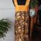 Wrap effect maxi dress