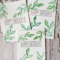 Birthday Cards - Nature design