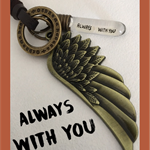 ALWAYS WITH YOU  - adjustable necklace