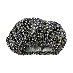 Black Skulls Adult Size Shower Cap one size fits most