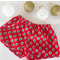 Red Christmas trees | 12 months size 1 unisex baby Christmas shorts