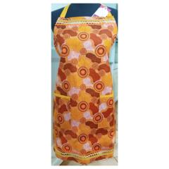 Dreams of Kata Tjuta ladies one piece reversible apron