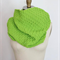 Large Knitted Snood,Knit Snood, Infinity Scarf, Scarf, Green Scarf, Wool, Unisex