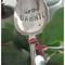 Hand stamped vintage silver spoon..  Garden Stake.