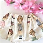 Paper dolls ~ Size 1 girls cotton summer retro twirly vintage skirt