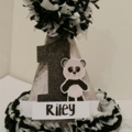 1st First Birthday Girl Party Hat assorted styles Custom Made