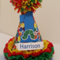 1st First Birthday Boy Party Hat assorted styles