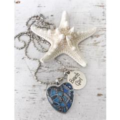 Affirmation Pendant Necklace - Beach Girl