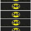 Batman Water Bottle Labels - YOU PRINT - WBL008