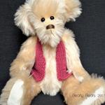 'Cedric' -  an artisan collectible bear
