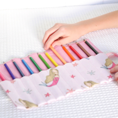 Pencil Roll - Mermaids