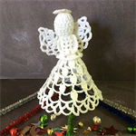 Hand Crocheted Angel Design Number 1