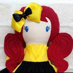 CUSTOM MADE**** Emma Wiggle Inspired Doll Handmade - Softie First Birthday Cloth
