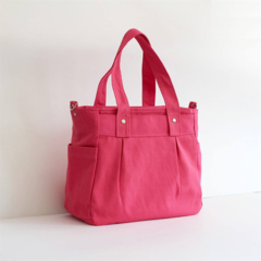 Teachers Carry All Bag,  PINK COTTON CANVAS APRIL DELIVERY