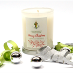 Limited Edition Christmas Candles - Christmas Wreath
