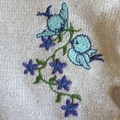 Fairy and Unicorn Embroidered Cardigan size 4