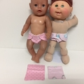 Dolls Nappies and Matching Wipes