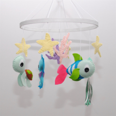 Baby Sea Creatures~  baby mobile
