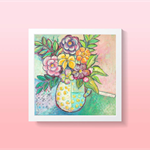 Bright Floral Wall Art