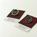 Vintage typewriter-key badge - large or small MARGIN RELEASE key