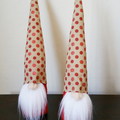 Two Scandinavian Gnomes | Tomte | Unique Valentines Gifts | For Him & Him