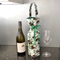 Insulated Christmas wine bag