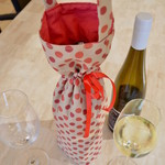 Christmas insulated wine tote