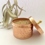 Copper Bush Christmas - Cinnamon & Lemon Myrtle - Beeswax Candle