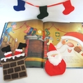 Christmas Book and Reading Activity Set Twas The Night Before Christmas